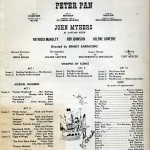 Peter Pan Program 3