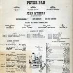 Peter Pan Program 3