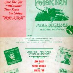 Peter Pan Program Back