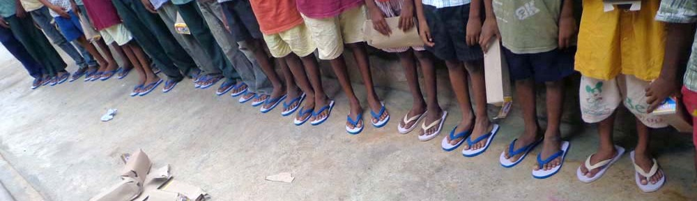 New Footwear For the Boys in India