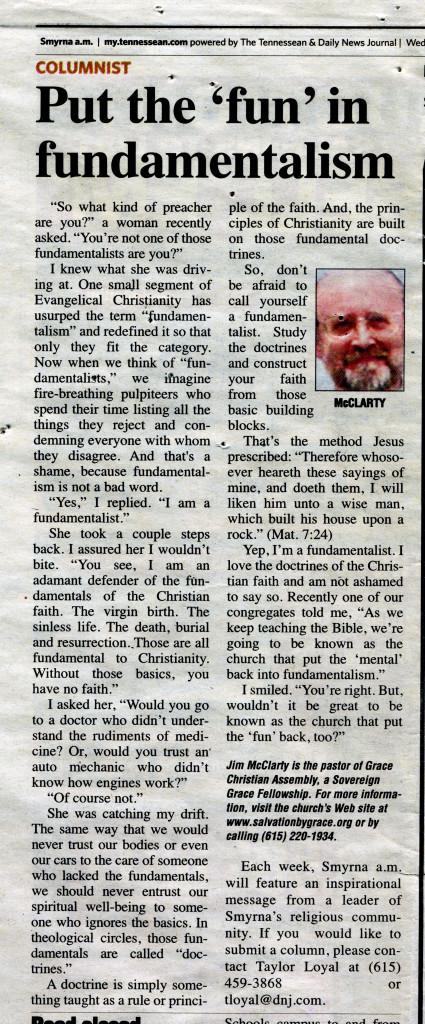 Fun Fundamentalism