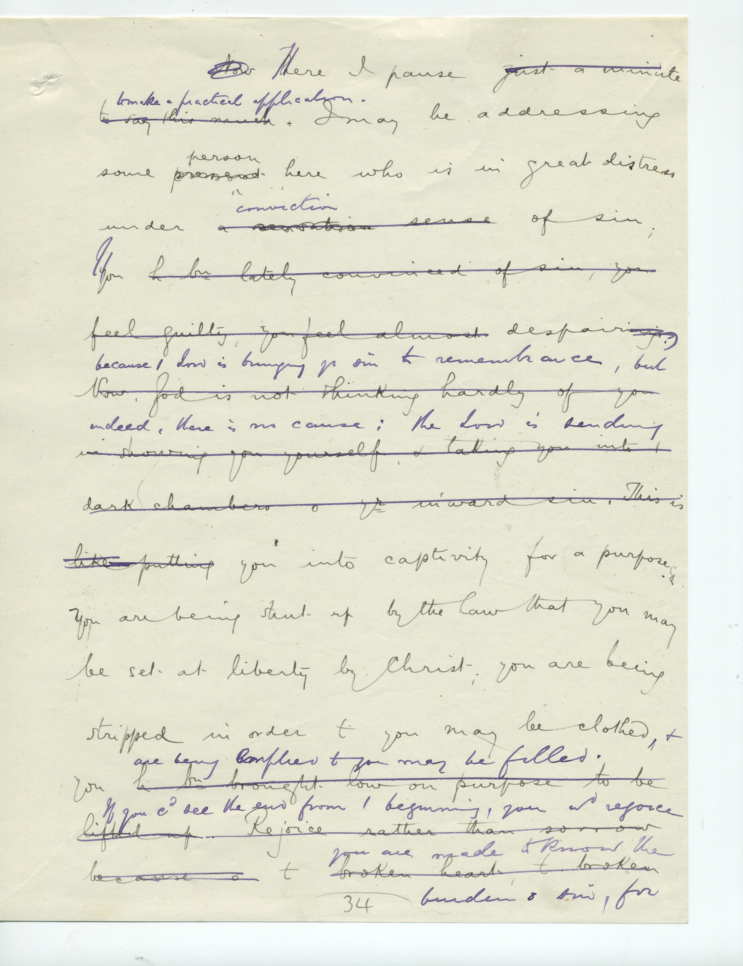 Spurgeon Original Transcript 1