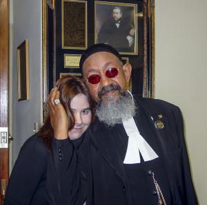 Megan and Elder Ward